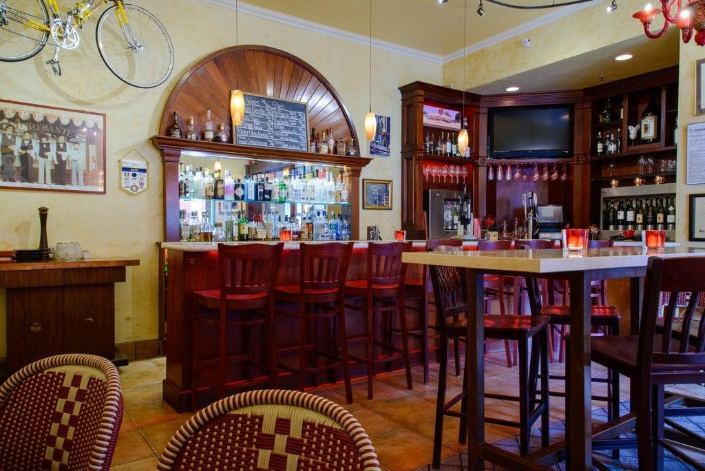 Cafe Roma Italian Restaurant Full Cocktail Bar