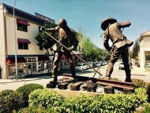Bronze Iron Road Pioneers